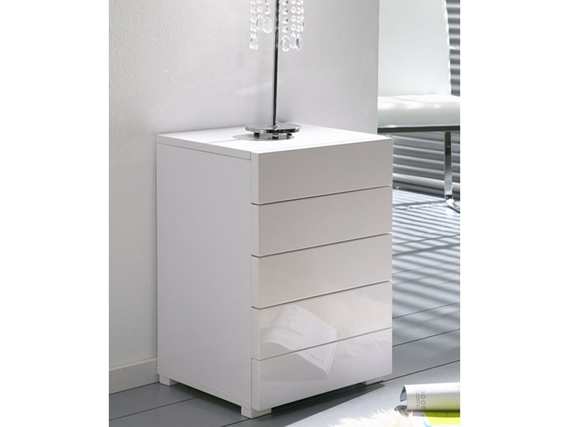 Kommode Weiss Hochglanz. Highboards Trondheim Highboard