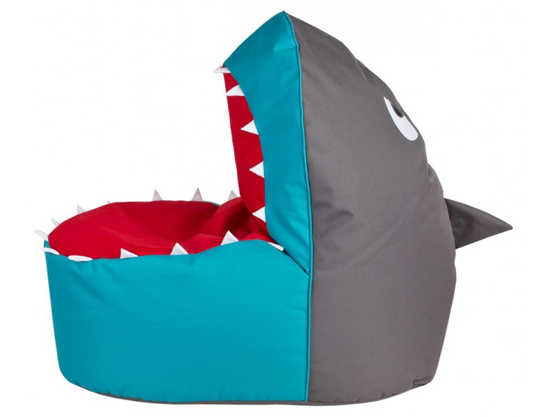 magma sitting point sitzsack kinder shark brava sitzkissen kinderm bel geschenk ebay. Black Bedroom Furniture Sets. Home Design Ideas